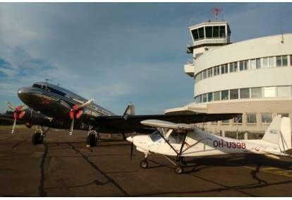 Esittelylento ultrakevyt lentokoneella