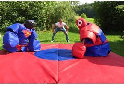 Lasten sumopuvut spiderman + superman