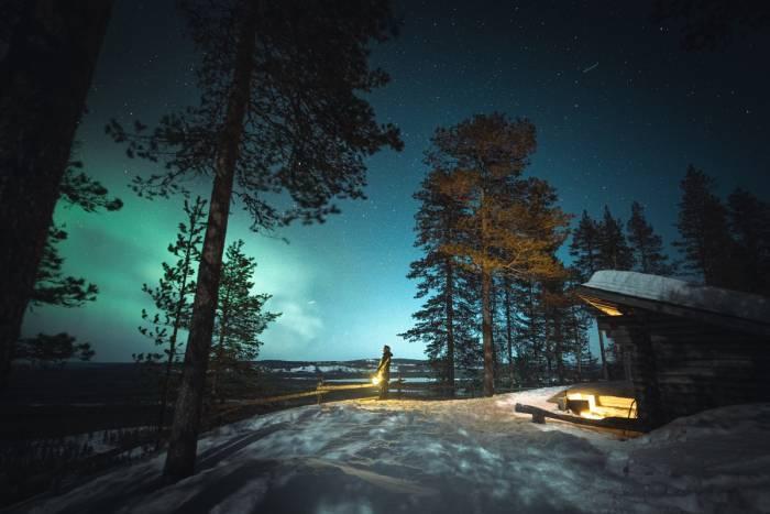 Tynnyrisaunailta – rentoudu Lapin luonnon keskellä