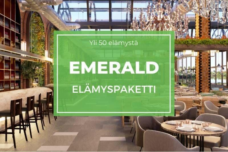 Emerald elämyspaketti